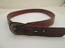 - AUTHENTIQUE  ceinture  EL CAMPERO  cuir  (T)BEG  vintage  à saisir