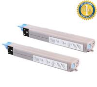 2 Pack Black Toner for Okidata Oki C9600 C9850 C9800 42918904 High Yield
