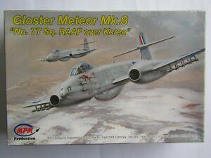 "MPM Gloster Meteor Mk.8 ""No.77 Sq. RAAF over Korea"" 1/72 Scale"