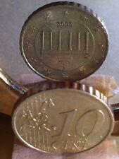Frappe Monnaie 10 Cent 2002 F Allemagne,Fauté Exemplaires Connu :10 Rare!!!!