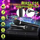 Wireless Karaoke KTV Microphone System Dual Handheld 2 x Mic  Cordless Receiver