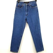 Guess Jeans Womens SZ 31 Jeans Blue Denim Mom High Waist Tapered Leg Classic Fit