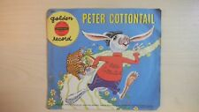 Golden Yellow Record PETER COTTONTAIL 78rpm 1950