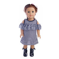 """Hot Latest Handmade Doll Dress Fits 18"""" Inch American Girl Doll Clothes"""