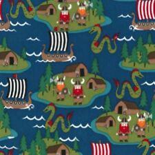 Michael Miller - Vikings - Half Metre Dress Making Fabric -