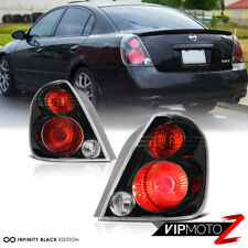 Fits 2002-2006 Altima SE-R OE Style Black Rear Tail Lights Lamp Brake Left Right