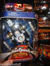 POWER RANGERS OPERATION OVERDRIVE BLACK TURBO DRILL RANGER, NEVER OPENED