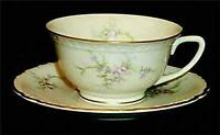VOGUE Susanna Pattern 1957 Cup & Saucer Set Porcelain China