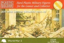 Plastique Soldat 1/72 2nd guerre mondiale Fin de la Infanterie Britannique #
