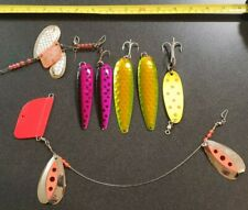 VINTAGE LUHR-JENSEN BOLO & OTHERS TROLLING FISHING LURES LOT
