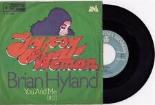 "BRIAN HYLAND GYPSY WOMAN UNIQUE LABEL RARE 1971 VINYL RECORD YUGOSLAVIA 7"" PS"