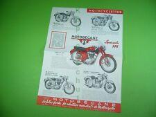 406KA2 Prospekt (1958): Motobécane Velomoteur, Scooters 125, Motocyclette 175