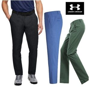 New UNDER ARMOUR UA Matchplay Showdown Tapered Golf Trousers 30 32 34 36 RRP £65