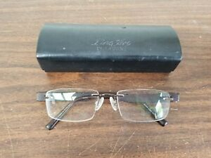 Charmant Line Art Rx Eyeglasses Frames CH10925 Brown 53[]19-140 Titanium Rimless