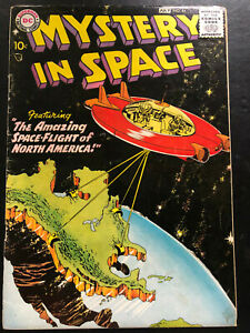 Mystery In Space #44 VG+ (4.5)