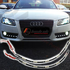 *2 x 30CM LED Strips DRL Daytime Running Lights Flexible Universal 5050 15 SMD