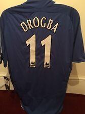 Chelsea Shirt-11 Drogba Size L