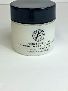 *Signature Club A *~ Coconut Meltdown~  cleansing Creme  for Eyes & Face. 4.5 oz