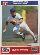 1992 Ryne Sandberg Diet Pepsi Collector's Series Card # 16 of 30