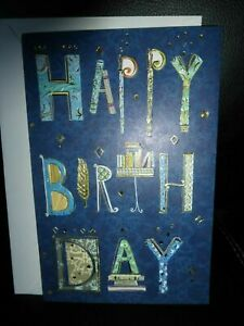American greeting card Happy Birthday (Turnowsky)  For any Male