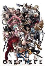 Poster A3 One Piece Nueva Generacion Supernovas / New Generation Manga Decor 01