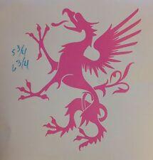 Tribal Dragon Mystical Fairy tale Mid evil Animal car truck Window decal sticker