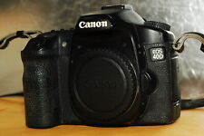 Canon EOS 40D 10.1MP Digital Camera Body +2 Batteries+Charger+CF card.