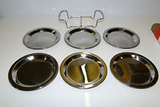 HOMELOVER 6 PIECE STAINLESS STEEL COASTER SET WITH STAND