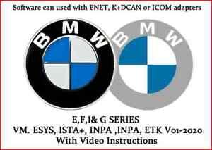 BMW diagnostic, VM PreInstalled . ESYS, ISTA+, INPA, ETK 01-2020
