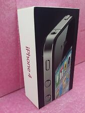 Apple iPhone 4 Black 16GB MC603HB/A Case Box - Sold with NO Cellphone, Empty Box