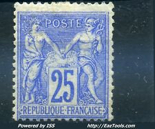 FRANCE TYPE SAGE N° 78 NEUF * AVEC CHARNIERE COTE 625€