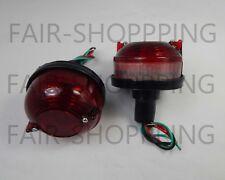 Rear Combination Tail Light Red fits 45-74 JEEP Willys CJ2A CJ3A CJ3B CJ5 CJ6