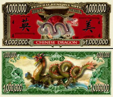 Dollarschein  Chinese Dragon chinesischer Drachen