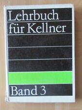 DDR Lehrbuch Kellner 3 Speise-Getränke-Lehre Bilder Etiketten Spirituosen Karte
