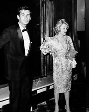 8x10 Print Marlene Dietrich Anthony Perkins Candid #227