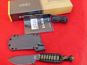 "Ka-Bar ESEE Becker Eskabar Fixed Blade Knife (3.25"" Black) BK14"