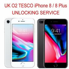 IPHONE X IPHONE 8 IPHONE 8 PLUS OFFICIAL UNLOCKING SERVICE UK O2 TESCO GIFFGAFF