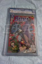 Batman #492  CGC GRADED 9.2 WHITE PAGES PLATINUM EDITION KNIGHTFALL 1 BANE