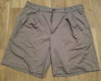 "Izod Golf Men's Size 36 Grey Golf Shorts 8"" Inseam Polyester No Holes No Stains!"