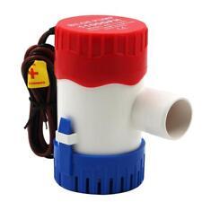Pompe submersible électrique multicolore de pompe à eau de cale de bateau