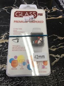 Joblot 10 Apple Watch High Quality Tempered Glass Protection Screens 42mm*