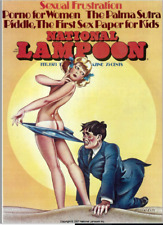 NATIONAL LAMPOON MAGAZINE 117 ISSUES in PDF format on DVD 1970-1979