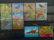 SOLOMON ISLANDS 2001 BIRDS DEFINITIVES TO $50 12v MH MINT COMPLETE SG976/987