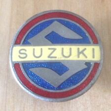Vintage Old SUZUKI Motorcycle Bike Badge