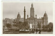 Glasgow - George Square - Postcard, #470