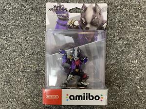 Starfox Wolf No.63 Amiibo Figure BRAND NEW Nintendo UK Stock