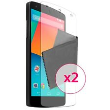 Films de protection Anti-Reflet HD pour Google Nexus 5 Par LG ® Lot de 2