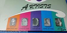 Singapore Pioneer Artists Liu Kang, Chen Chong Swee, Chen Wen Hsi, Cheong S P