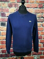 Lacoste Navy Sweater Jumper - Size 3 - Small