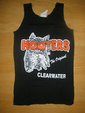 NEW HOOTERS SEXY BLACK/ORANGE TANK/SHORTS UNIFORM HALLOWEEN COSTUME FLORIDA L/M